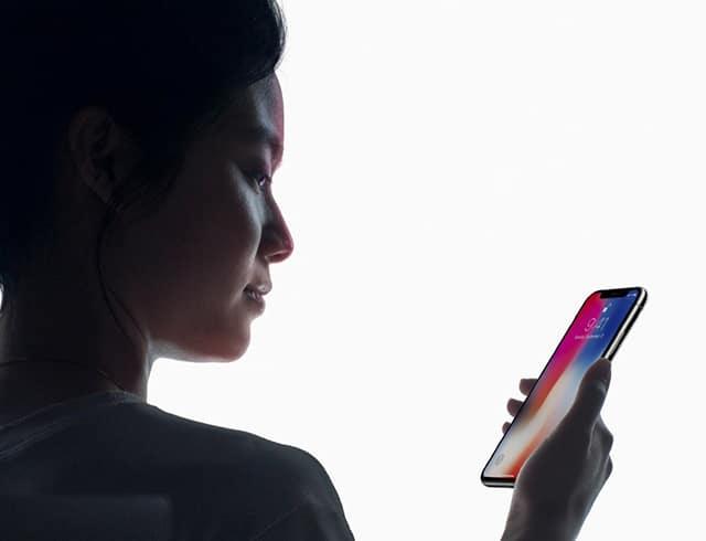 iPhone X Hỗ trợ tính năng nhận diện khuôn mặt