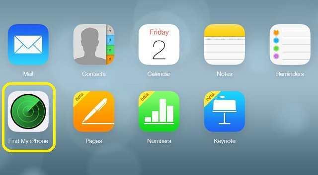 Mở ứng dụng Tìm iPhone