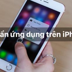 cách ẩn ứng dụng trên iphone