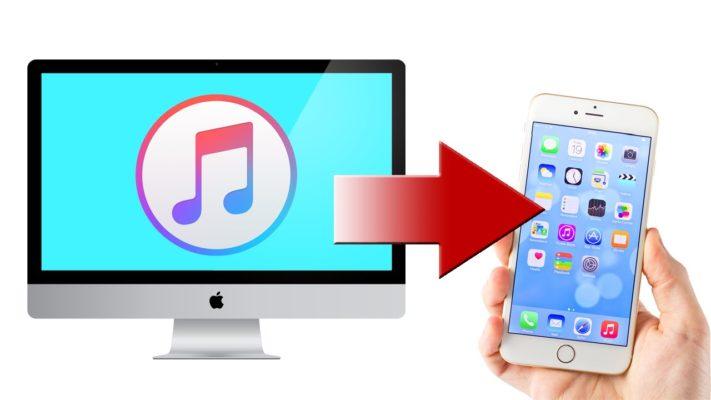 Cách chép nhạc từ máy tính sang iphone