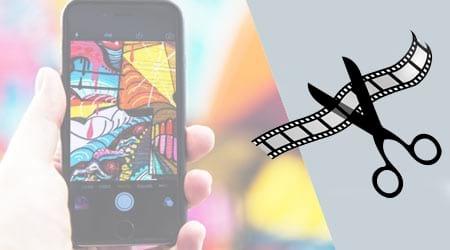 Cắt video trên iphone