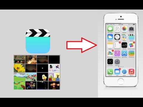 Cách chép & lưu video vào iPhone