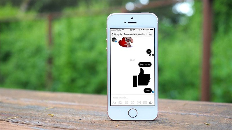 Cách đổi màu messenger cho iPhone