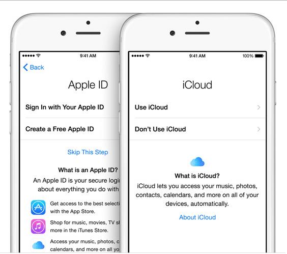 Kiểm tra iCloud trước khi mua