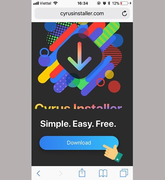 Tải ứng dụng Cyrusinstaller
