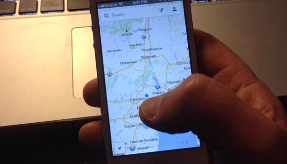 Zoom trong Google Maps chỉ bằng một ngón tay