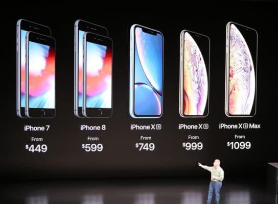Bộ 3 iphone mới Apple vừa ra mắt