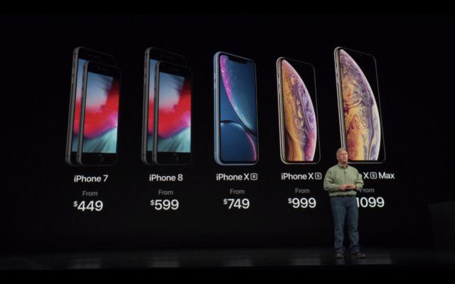 Giá của iPhone Xs và Xs Max rất đắt