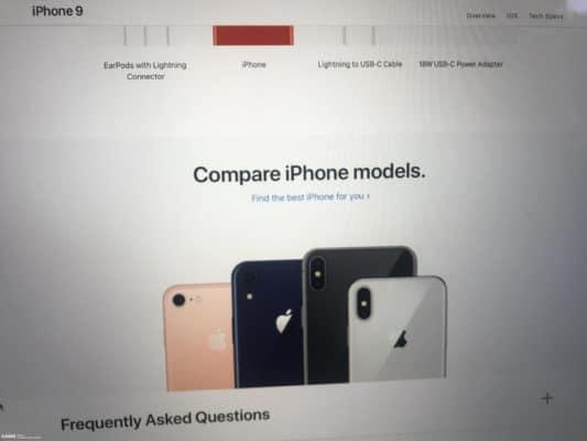 Hình ảnh được cho là iPhone XS