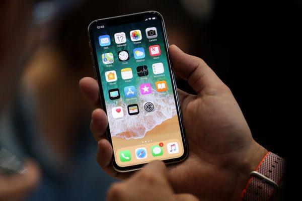 iphone X dùng cử chỉ thay nút home truyền thống