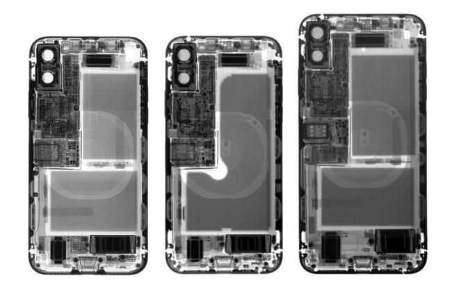 Việc tinh chỉnh kích thước pin đã khiến XS có thời lượng ít hơn so với iPhone X, trong khi XS Max kém hơn 20% so với P20 Pro và Galaxy Note 9