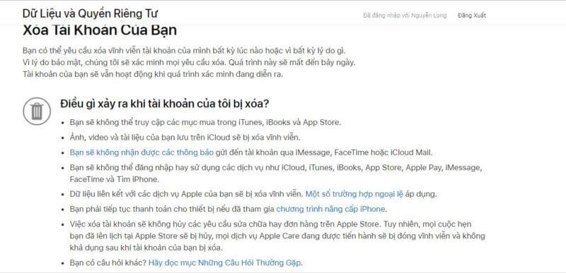 Apple đưa ra một số cảnh báo cho người dùng