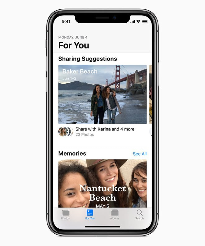 Apple cải thiện chức năng tìm kiếm trong ứng dụng Photos
