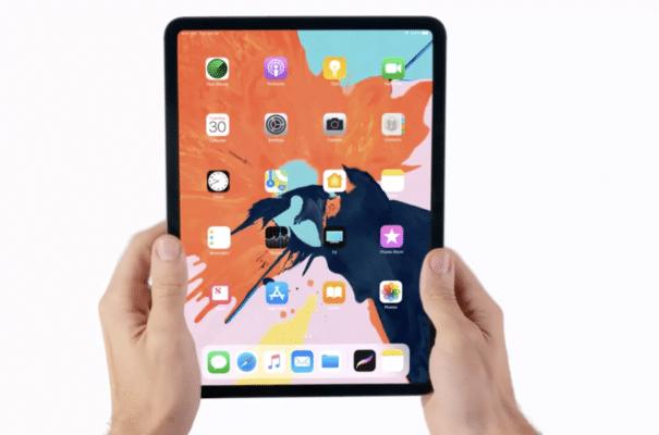Hình ảnh đầu tiên iPad Pro