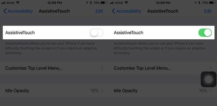 Tùy chọn AssistiveTouch