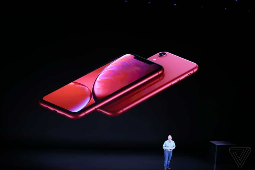 Thiết kế iPhone XR