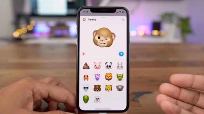 Cải tiến Animoji cho iPHone X