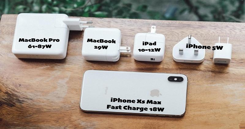 Giải pháp sạc nhanh iphone 8 - xs max