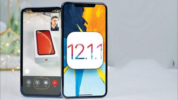 Apple phát hành ios 12.1.1 beta dành cho người phát triển