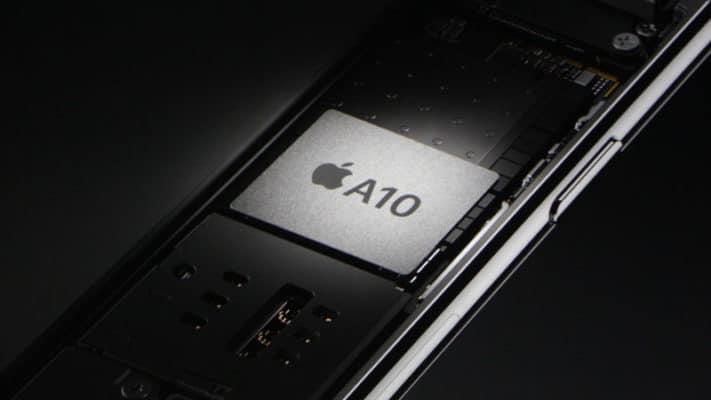 Chíp xử lý A10 mang lại tính năng vượt trội có trên chiếc iPhone 7 Plus