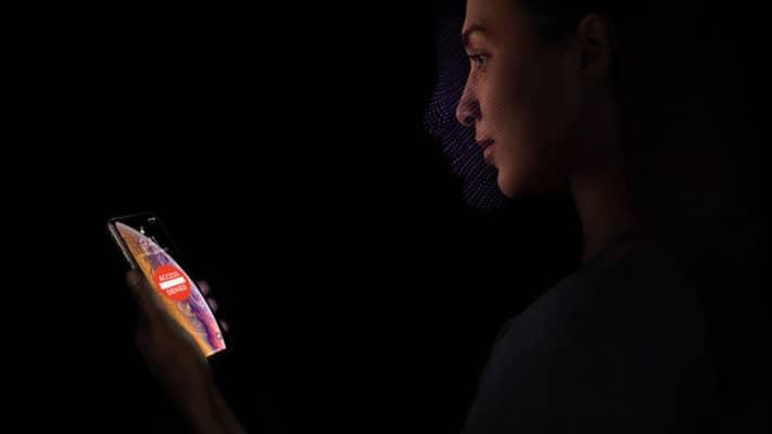 Face ID iPhone Xs Max được cải tiến