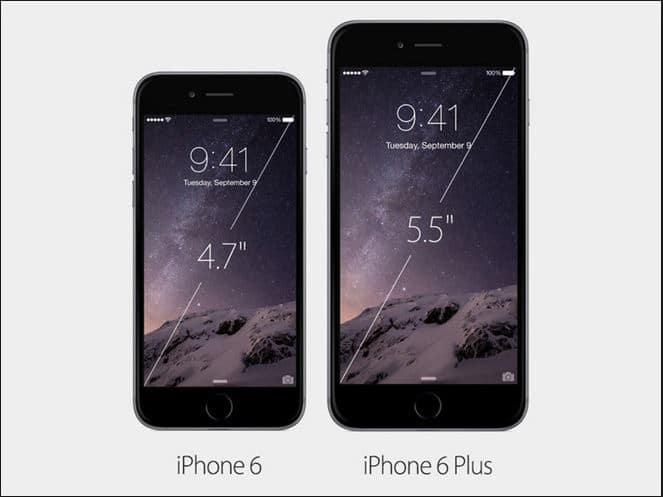 Về kích thước màn hình