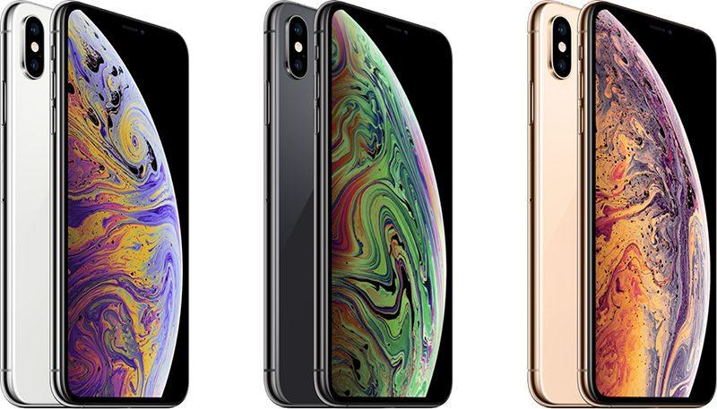 iPhone Xs Max có 3 màu lựa chọn