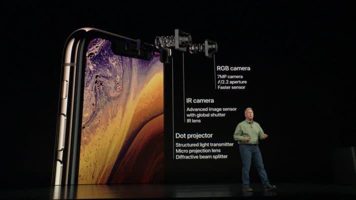 Camera trước cũng được nâng cấp