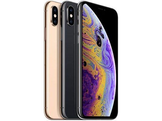 Thiết kế iPhone Xs không đổi so với iPhone X