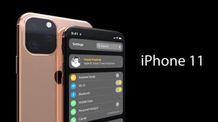 rò rỉ thiết kế iphone 11