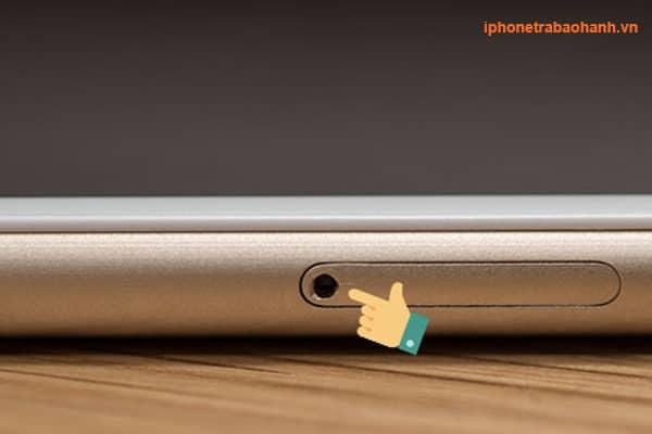 Khay sim iphone