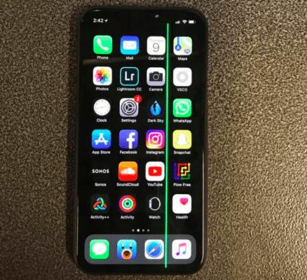 iPhone bị sọc màn hình