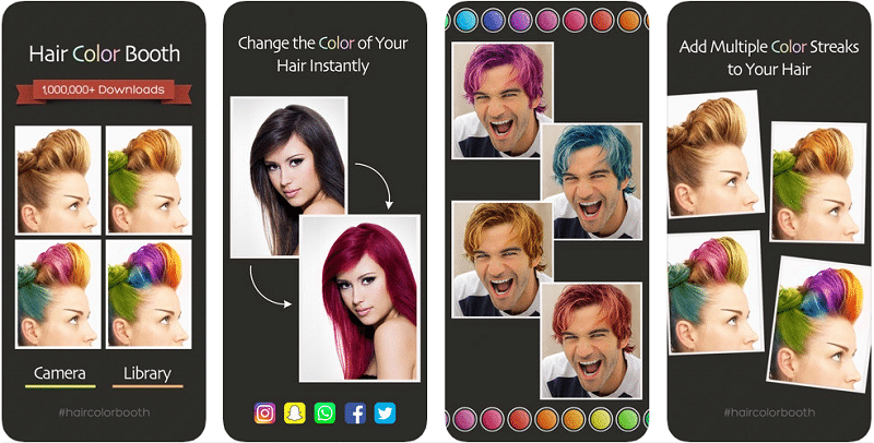 Ứng dụng Hair Color Booth