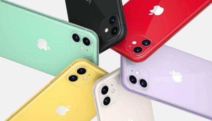 iPhone 11 có mấy màu