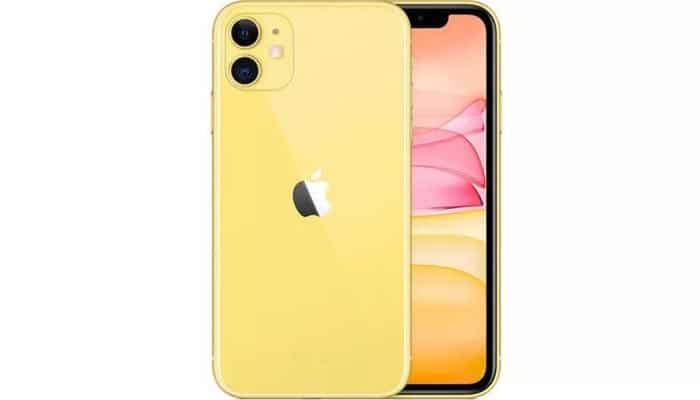iPhone 11 màu vàng