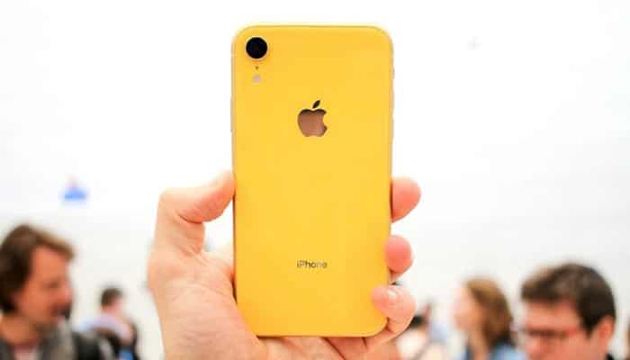 iPhone Xr phiên bản màu vàng