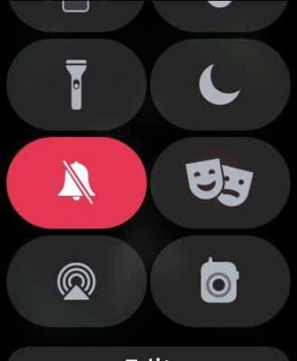 Bật chế độ im lặng trên Apple Watch