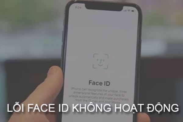 Lỗi Face ID không hoạt động trên iPhone X