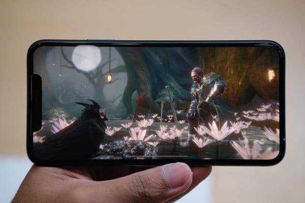 Màn hình iPhone 11 Pro Max hiển thi sắc nét