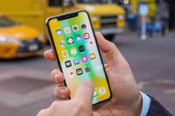 Màn hình iPhone X không hoạt động