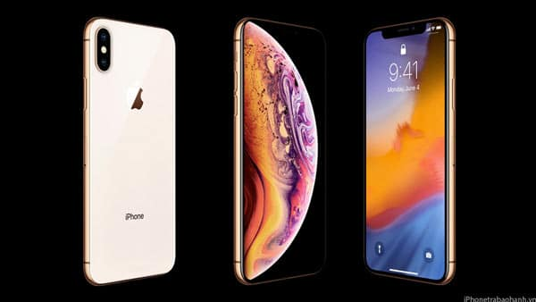 Thiết kế iPhone Xs
