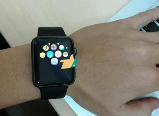 Trên Apple Watch bạn vào cài đặt