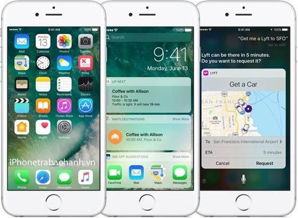 Máy iPhone 7 32GB Mới với hệ điều hành mới