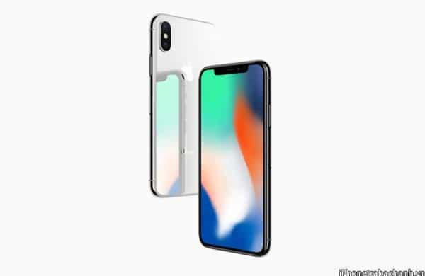 iPhone X được thiết kế sở hữu khung viền thép không gỉ