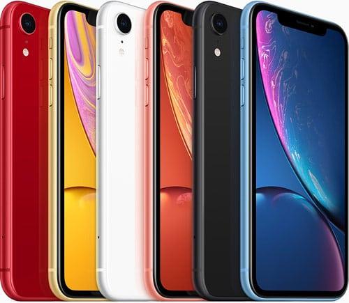 iPhone Xr có tới 6 màu lựa chọn