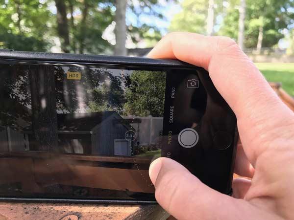 Khóa ống kính khi quay video