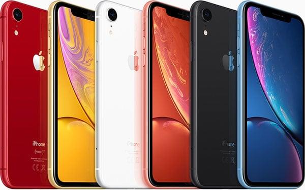 Màu sắc của các loại iPhone