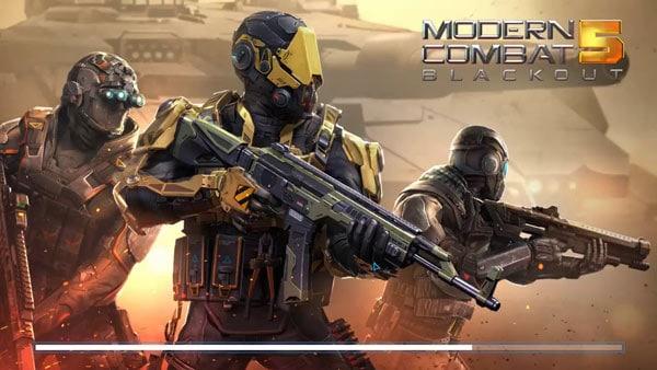 Modern Combat 5 Tuyệt phẩm bắn súng khuynh đảo thánh địa ảo