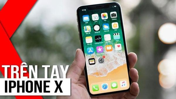 Những đổi mới trên iPhone X