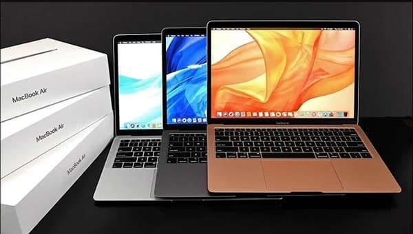 Thiết kế Macbook Air 13 inch 2019